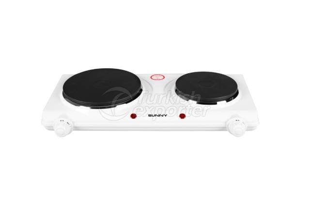 Double Electric Cooktop