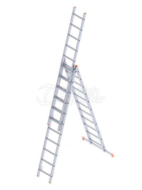 INDUSTRIAL LADDER TYPE A  3x15 (409