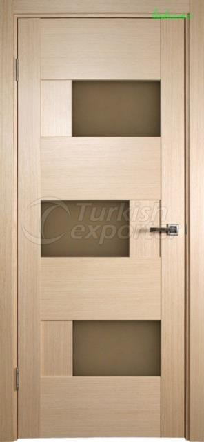 Veneered Wooden Door LK 113