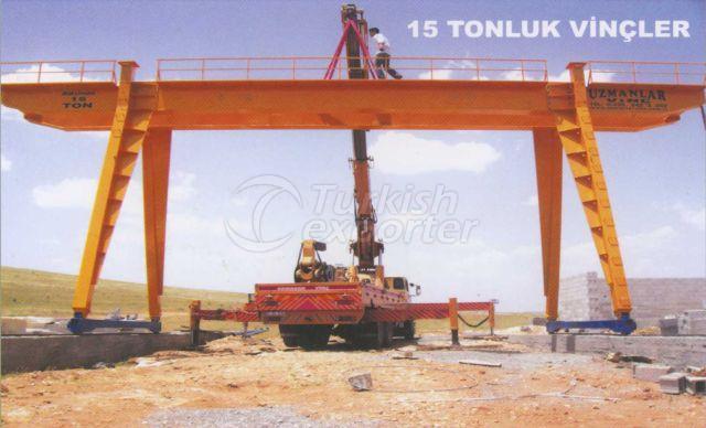 Open Field Cranes 15 Ton