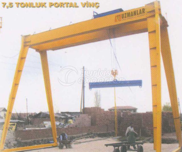 Portal Crane 7,5 Ton