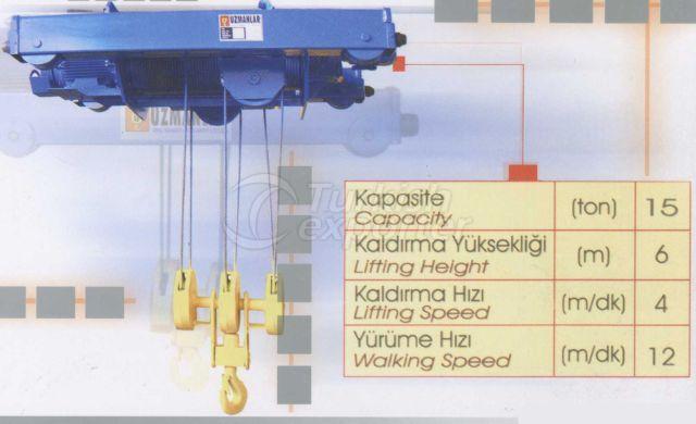 Hoisting Units 15 Ton