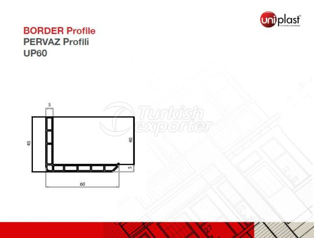 Border Profile UP60