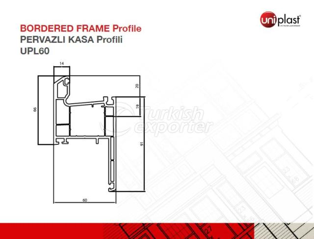 Bordered Frame Profile UPL60