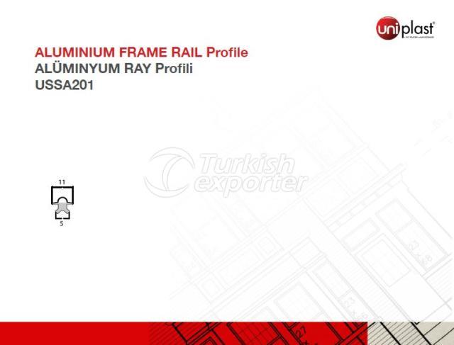 Aluminum Frame Rail USSA201