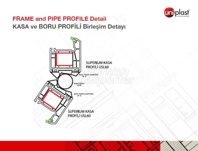 Frame an Pipe Profile