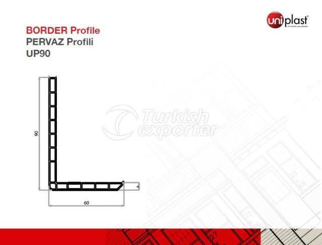 Border Profile UP90