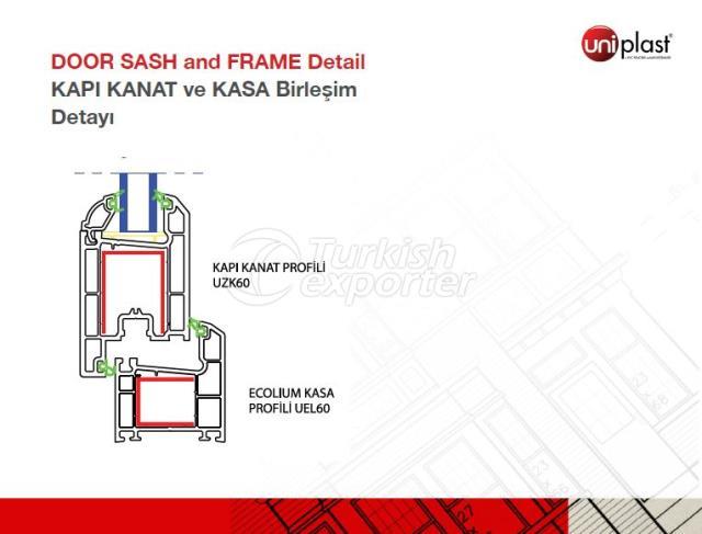 Door Sash and Frame