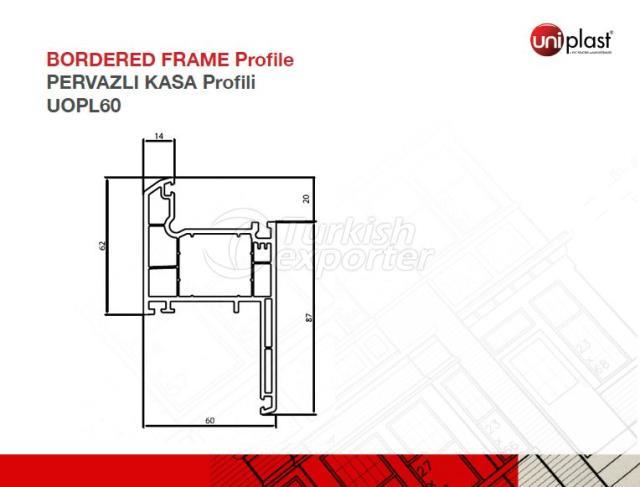 Bordered Frame Profile UOPL60