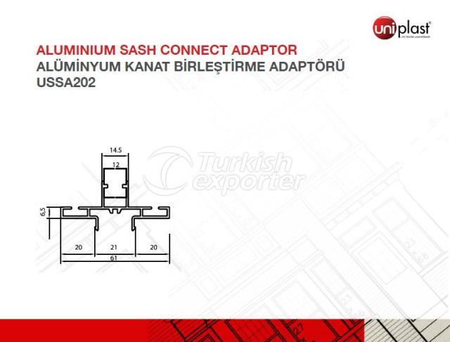 Aluminum Sash Connection Adaptor