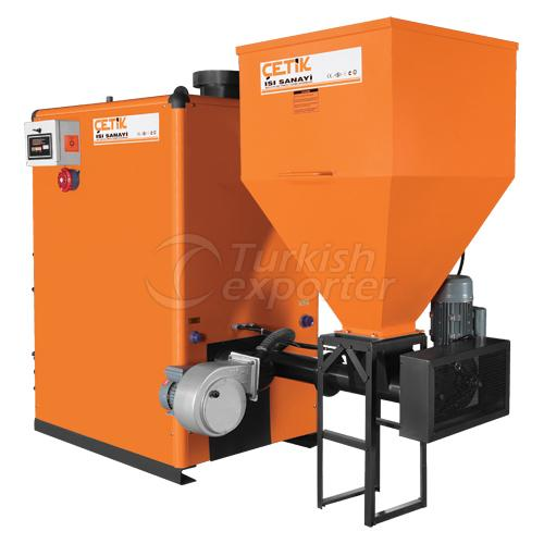 Biomass stoker boiler