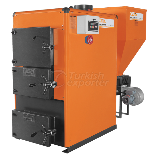 Heating Boilers with Stoker