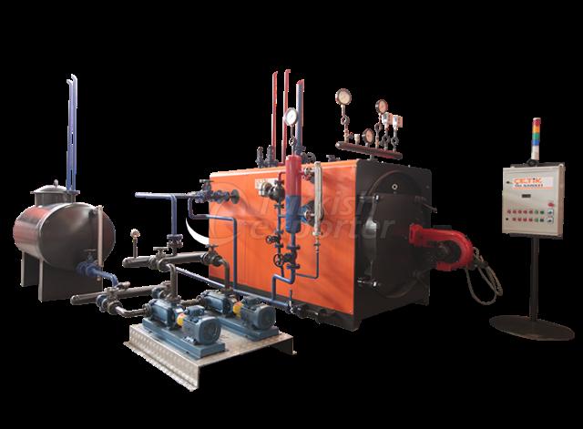 Liquid fuel fired Steam boiler