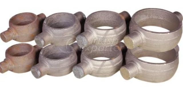 Steel Casting Hydrolic Cylinder Yokes