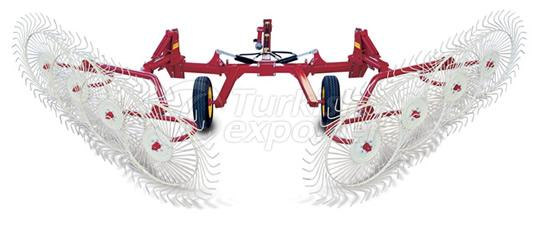 v-type-wheel-hay-rake