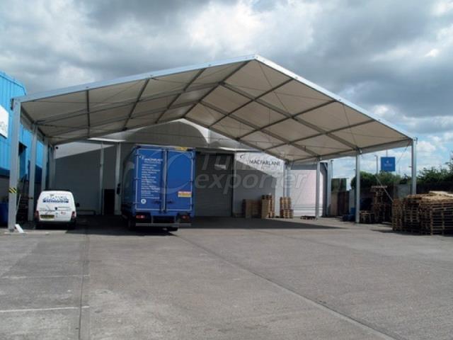 Storage and Hangar Tent