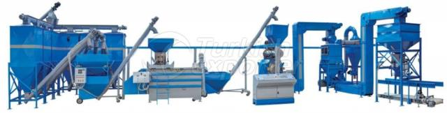Powder and Pellet Feed Plant