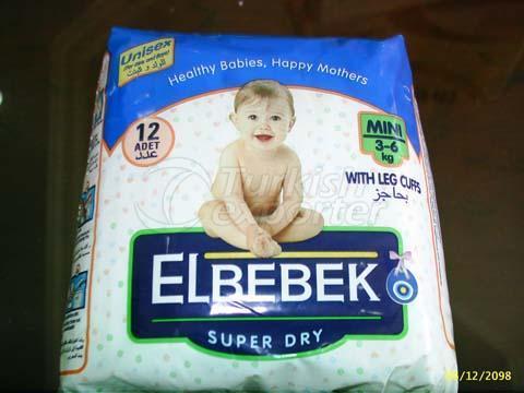 Baby Diaper Elbebek
