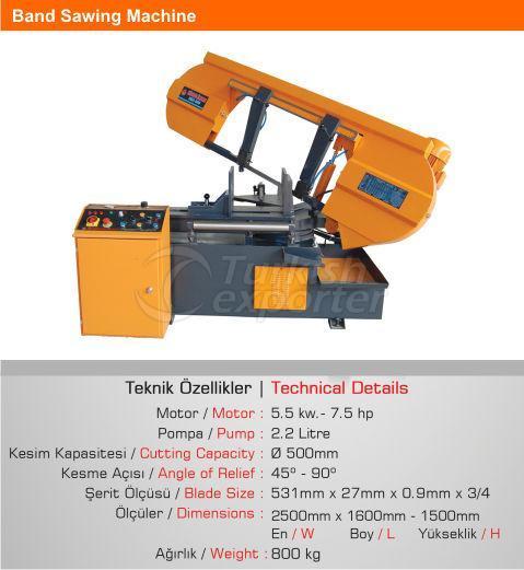 Band-Sawing-Machine SMA 500