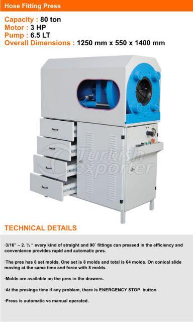 Hose-Fitting-Press-Machine