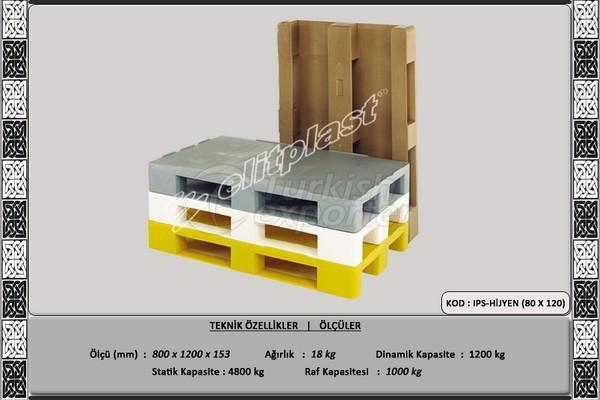 Burden Pallet (IPS-Hygiene)