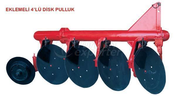 disc plow with 4 discs