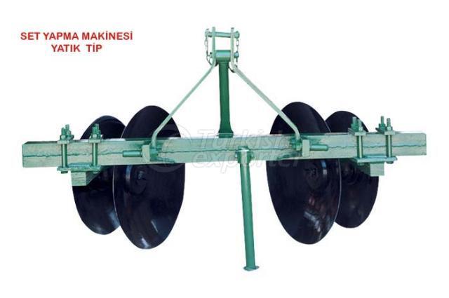 terracing machine horizontal type