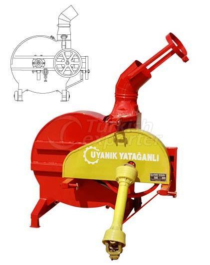 straw loading and unloading exhaust fan