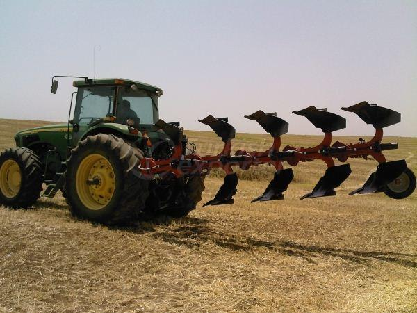 Reversible Mouldboard Plough On Land