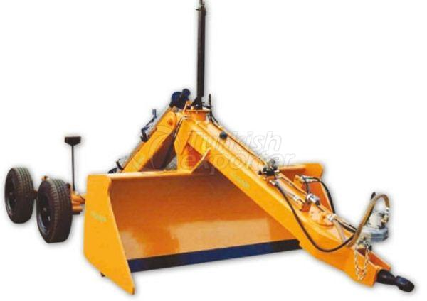 Lazer Controlled Leveler Machine