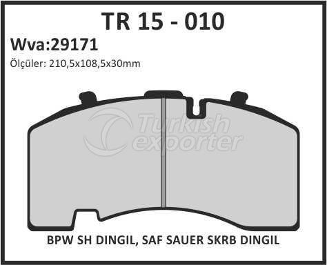 Brake Lining tr 15 - 010