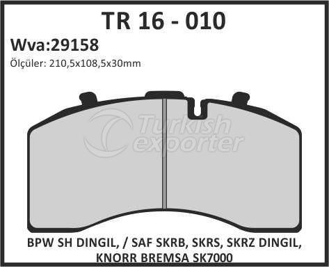 Brake Lining tr 16 - 010