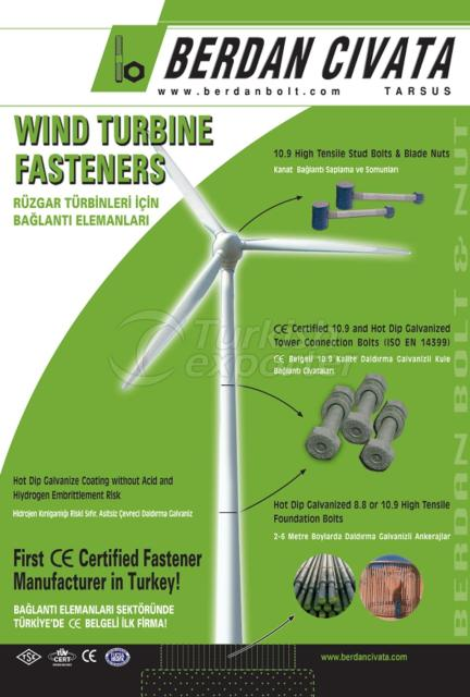 Wind Turbines and Connection Parts