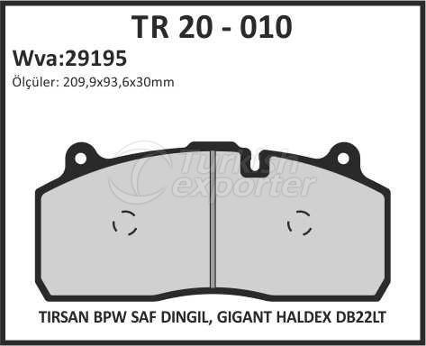 Brake Lining tr 20 - 010
