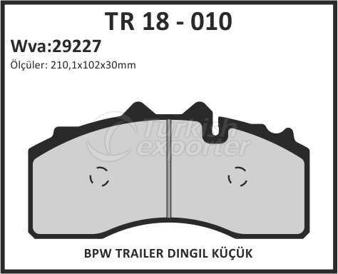 Brake Lining tr 18 - 010