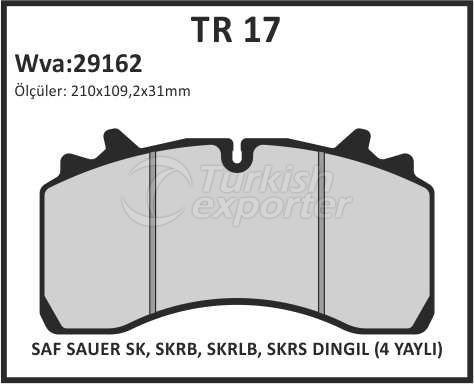 Brake Lining tr 17