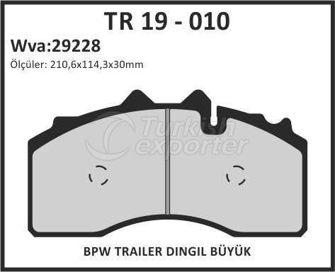 Brake Lining tr 19 - 010