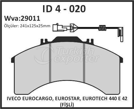 Brake Lining id 4 - 020