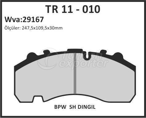 Brake Lining tr 11 - 010
