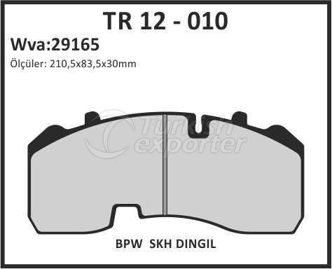 Brake Lining tr 12 - 010