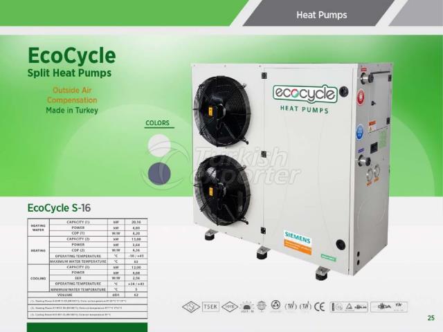 Heat Pump ECOCYCLE S-16