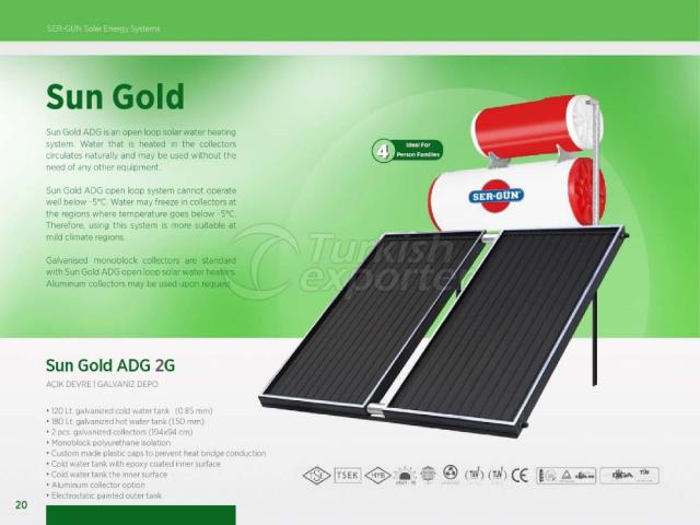 Solar Energy Sun Gold ADG 2G