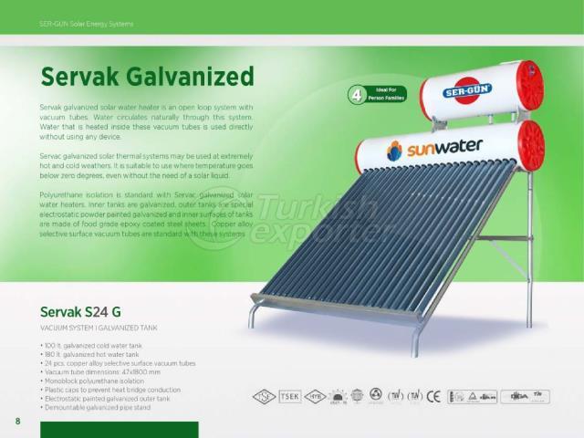 Solar Energy Servak S24 G