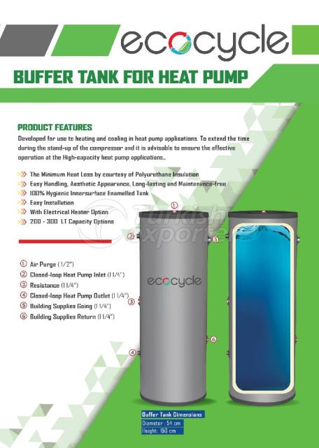 Buffer T ank for Heat Pump