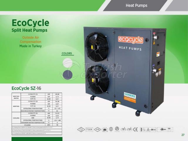 Heat Pump ECOCYCLE SZ-16