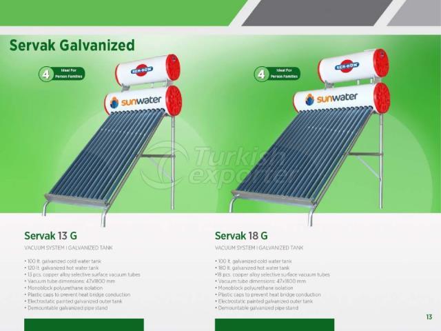 Solar Energy Servak 13G - 18G