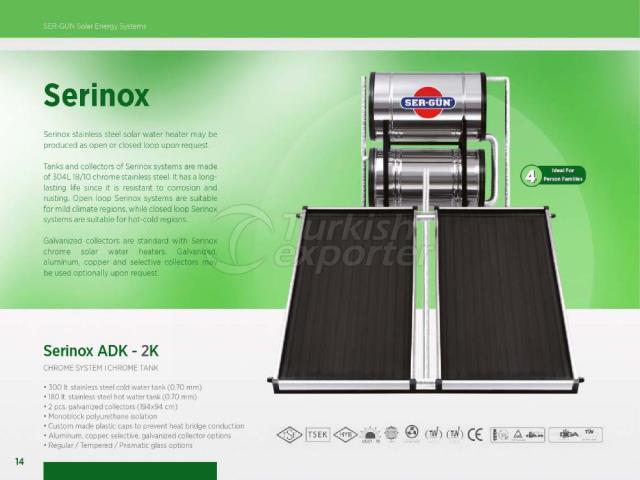 Solar Energy Serinox ADK-2K