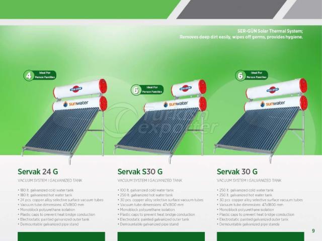 Solar Energy Servak 24 G-S30G-30G