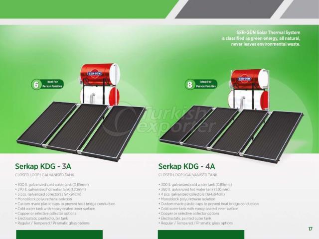 Solar Energy Serkap KDG-3A - 4A