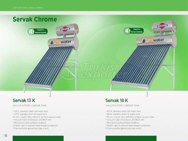 Solar Energy Servak 13K - 18K